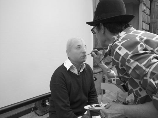 Efrem Raimondi, backstage M.T. Gavazzi by Laura De Tomasi