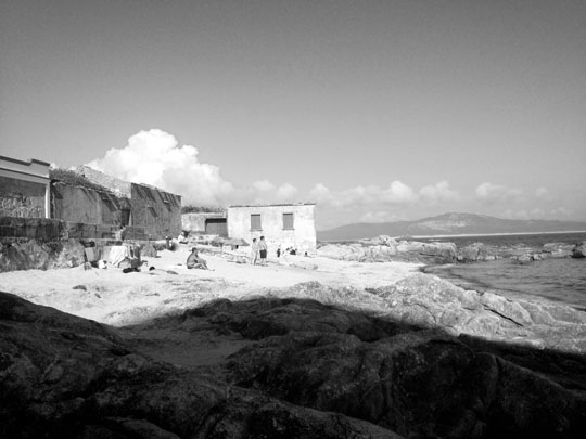 Corrubedo. Galicia. View from David Chipperfield's house, by Efrem Raimondi