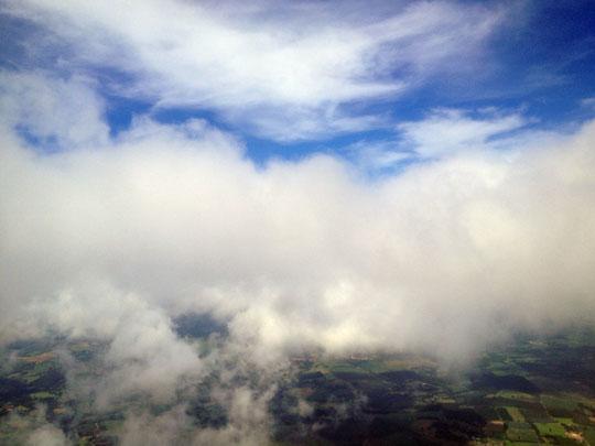 Santiago de Compostela - sky by Efrem Raimondi