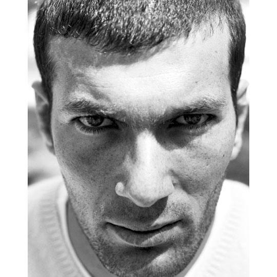 Zinedine Zidane by Efrem Raimondi