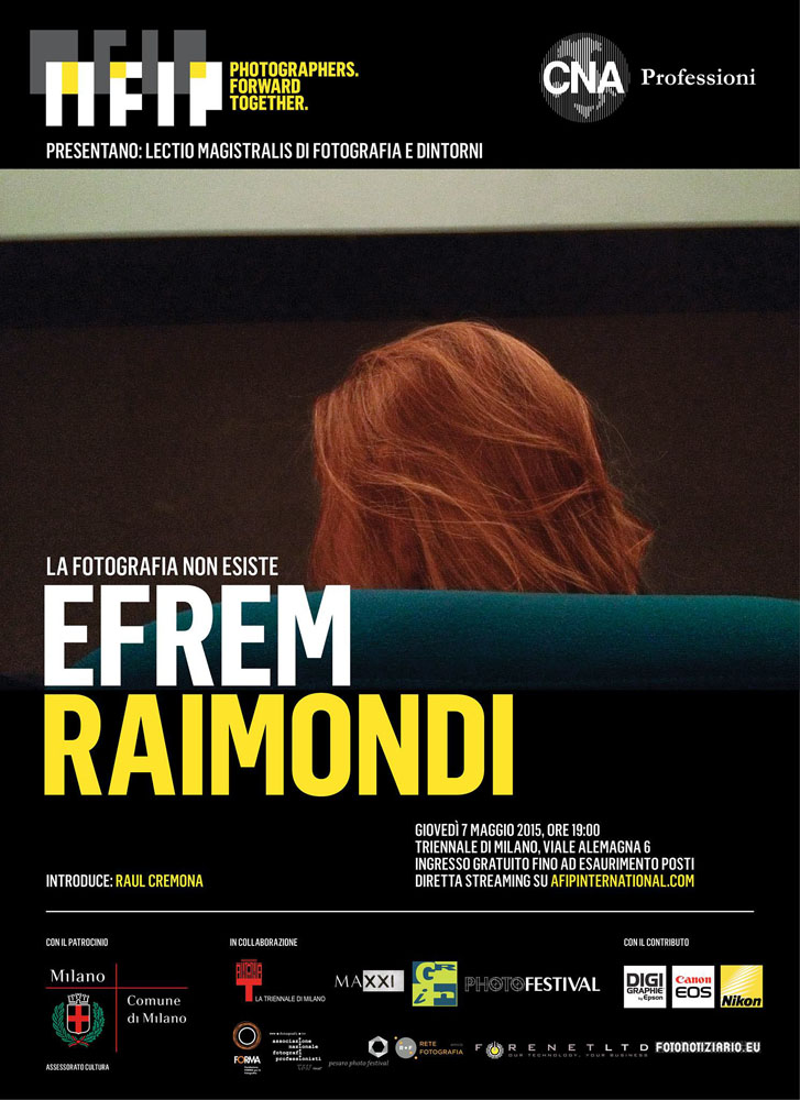 Efrem Raimondi in Triennale