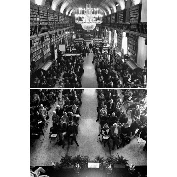 Biblioteca Braidense by Efrem Raimondi