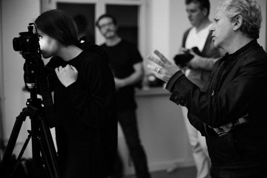 E.R. backstage © Nicola Petrara
