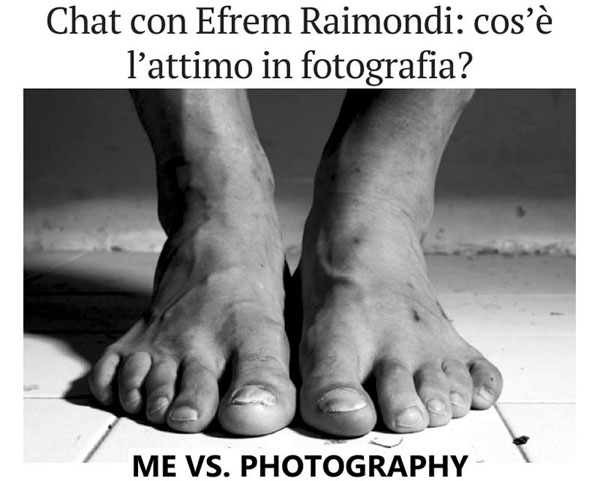 ME VS. PHOTOGRAPHY - interview