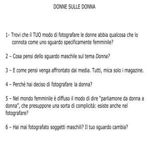 Donne e Donna - Efrem Raimondi blog