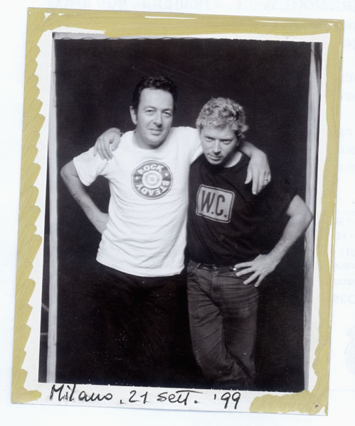 Joe Strummer and me, Efrem Raimondi