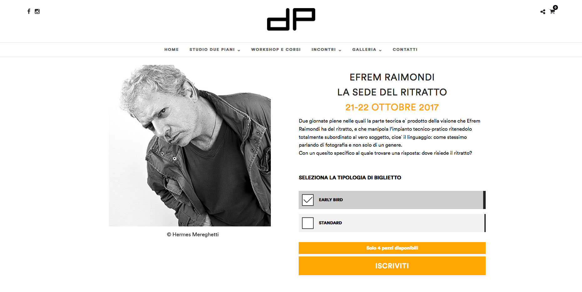 Efrem Raimondi a Pordenone