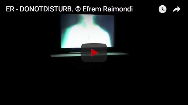© Efrem Raimondi - DO NOT DISTURB - group exhibition