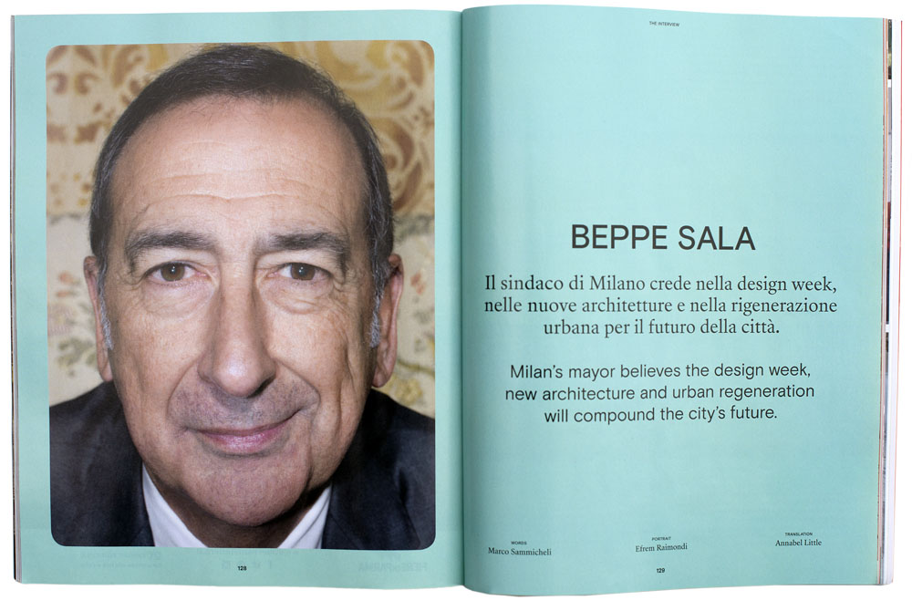 Beppe Sala by Efrem Raimondi for ICON DESIGN
