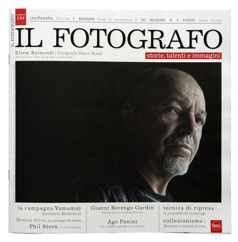 Il Fotografo 2015 - cover Efrem Raimondi