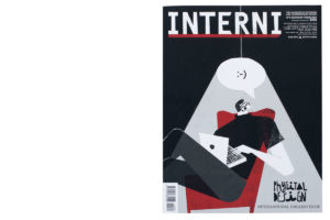 INTERNI magazine N 708 - Cover by Fernando Cobelo